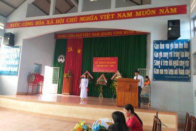 TRƯỜNG PTDTNT THCS VÀ THPT HUYỆN CƯ JÚT KHAI GIẢNG NĂM HỌC MỚI 2019-2020
