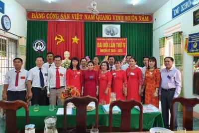 ĐẠI HỘI CHI BỘ TRƯỜNG PTDTNT THCS VÀ THPT HUYỆN CƯ JÚT,  LẦN THỨ IV, NHIỆM KỲ 2020-2025