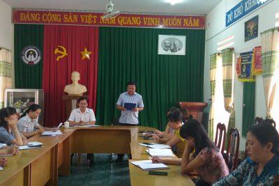 Bổ Nhiệm Phó Bí Thư Chi Bộ Trường PTDTNT THCS và THPT Huyện Cư Jút Nhiệm Kí 2015-2020