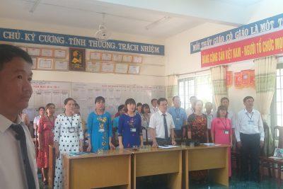 HỘI NGHỊ SƠ KẾT GIỮA NHIỆM KỲ THỰC HIỆN NGHỊ QUYẾT ĐẠI HỘI CÔNG ĐOÀN IV CÔNG ĐOÀN TRƯỜNG PTDTNT THCS VÀ THPT 2017-2022