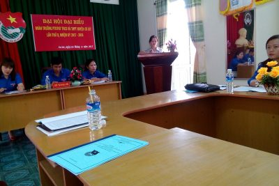 Đại Hội Đoàn Trường PTDTNT THCS Và THPT Huyện Cư Jút Nhiệm Kì 2017-2018