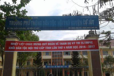 Thi Olympic Khối DTNT tỉnh Đăk Nông
